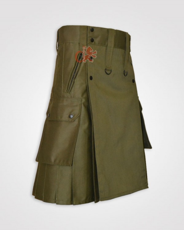 Detachable Apron Mocker kilt