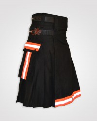 Fireman Leather Straps High Visibility Kilt
