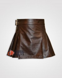 Unisex Leather kilt
