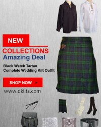Black Watch Tartan Complete Wedding Kilt Outfit